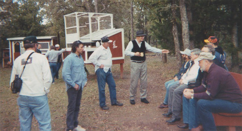 NBRC Convention in TX. Joe Marlette in the middle pointing to the late Jim Perri