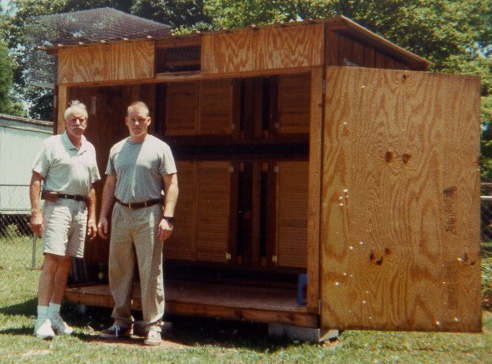 'Eldon Cheney and Rick Mee in Creola, AL